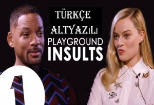 Playground Insults Margot Robbie ve Will Smith Laf Sokmaları Türkçe Alt Yazı